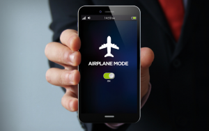 Put your phone in airplane mode and turn off any other Bluetooth devices near you