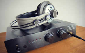 Get a headphone amplifier