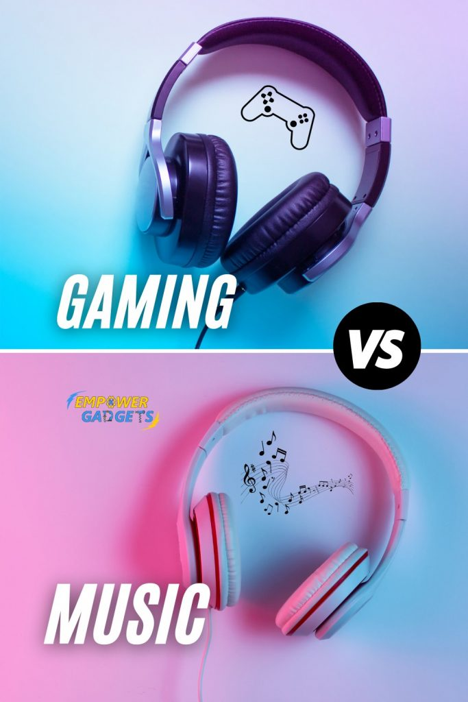 What's the Difference between a Gaming Headphone and a Music Headphone Pin